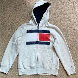 Tommy Hilfiger zip front hoodie NWOT